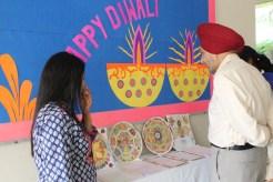 Principal Kuldip Singh admiring our work