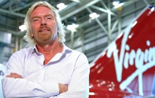 Richard Brandson Virgin Atlantic Storytelling Success