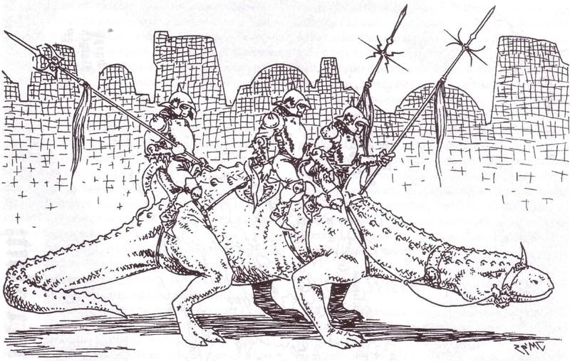 El Pythor - reptilion, który został papieżem (1/3)