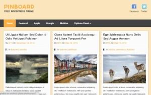 Pinboard Tema WordPress