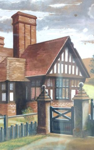 Dorothy's Timber Framed House