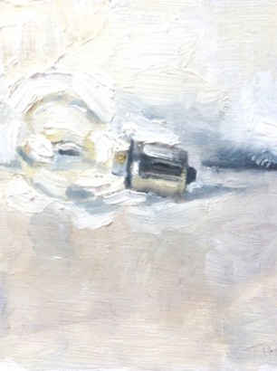 Headlights, Oil By David Thomas