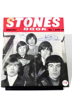 Rolling Stones' Autographs