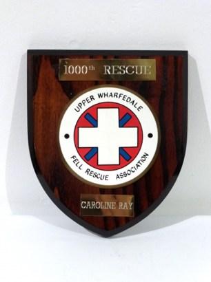 Fell Rescue Plaque
