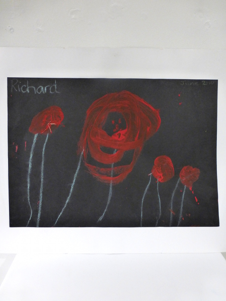Poppy Field By Richard Bowdin-Fairbank