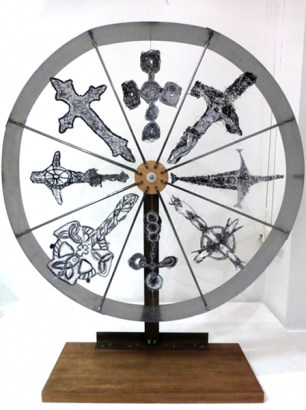 Silver Cross Wheel
