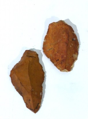 Two Neolithic Flints