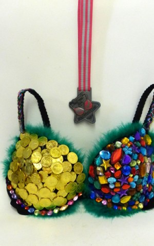 Moonwalk Bra And Medal