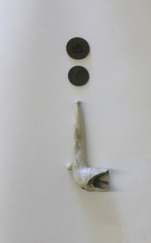 Richard's Treasures: Clay Pipe & Coins