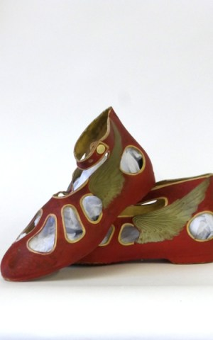 Edwardian Swimming Shoes