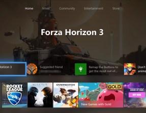 Xbox One : Un aperçu de la nouvelle interface en vidéo