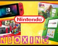 Unboxing – Nintendo 2DS Link edition & Switch Mario Odyssey
