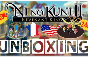 Unboxing – Ni No Kuni 2 : Edition Collector FR et US