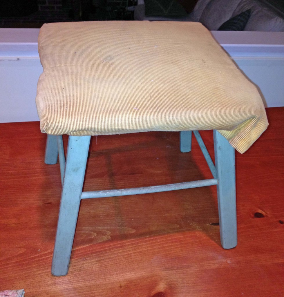 Stool makeover - before
