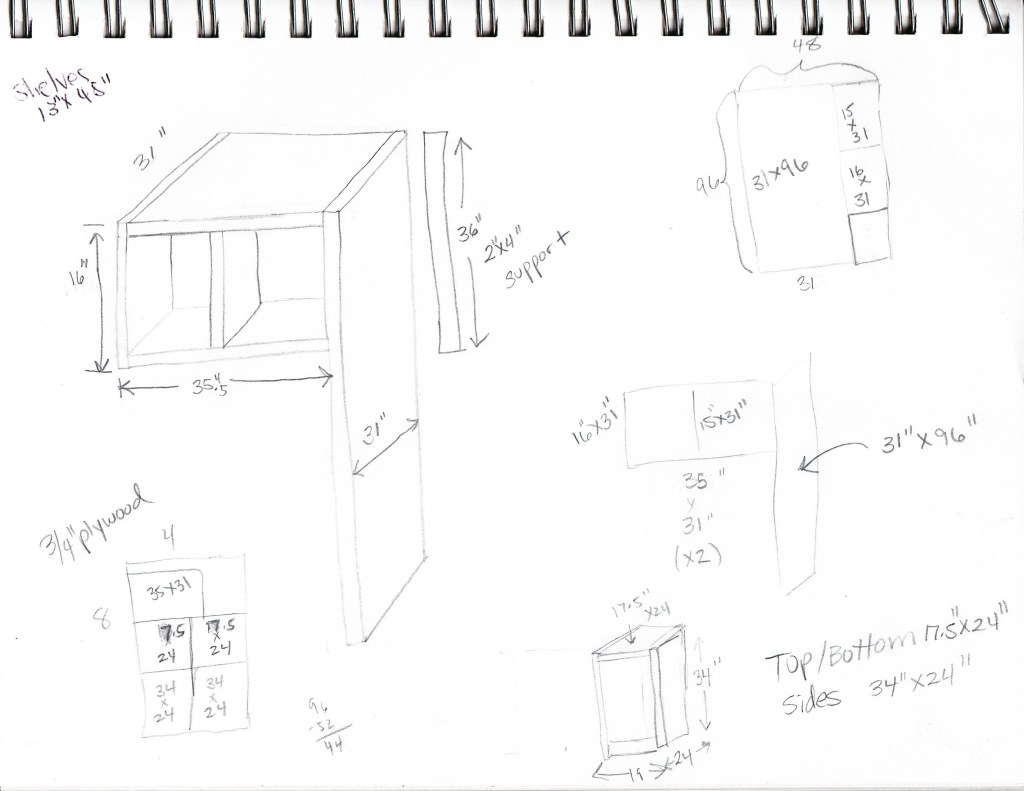 Laundry Room Sketch