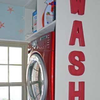 Laundry Room 6: WASH Letters