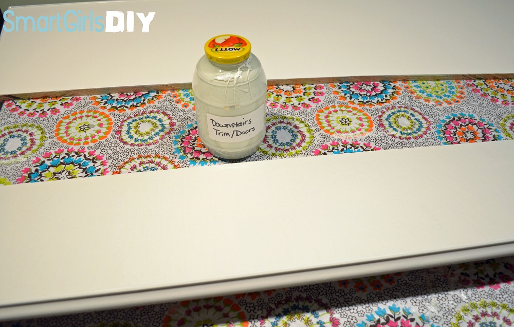 Smart Girls DIY Painting Shelves 1