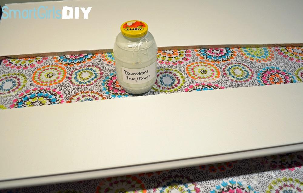 Smart Girls DIY Painting Shelves 1