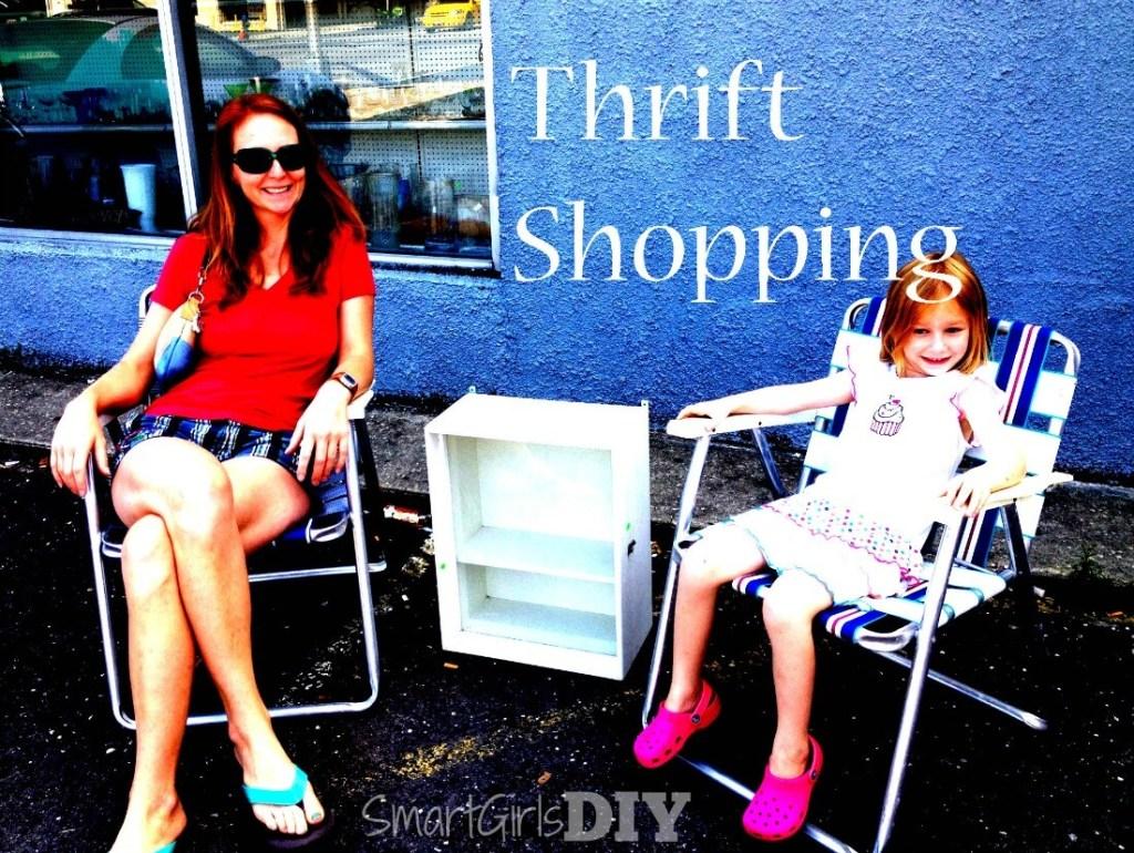 Thrift shopping at Salvation Army - Asbury Park