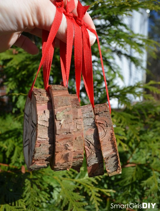Easy DIY Rustic Christmas Ornaments