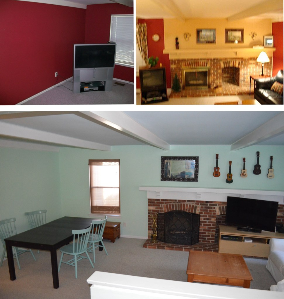House tour - family room - going to get a makeover soon