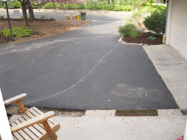 My vision of a horseshoe driveway
