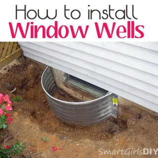 How to install windwo wells - Smart Girls DIY