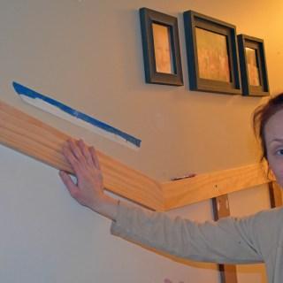 Downstairs Hallway 1: Board and Batten Challenges