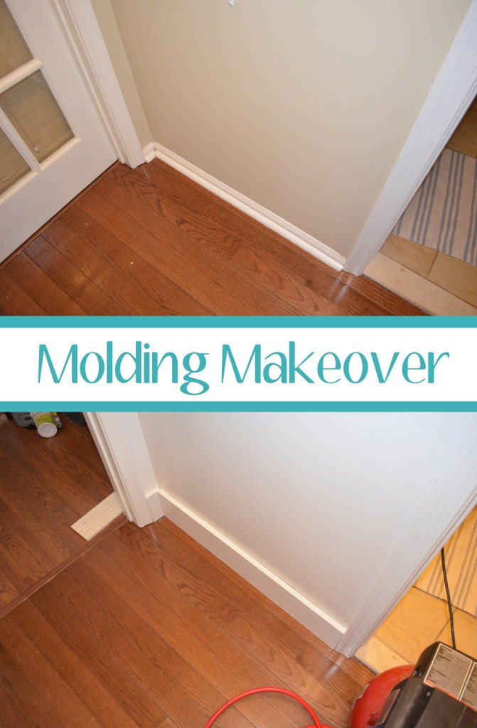 Molding Makeover - Smart Girls DIY