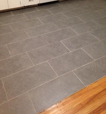 Lowes brick pattern floor tile