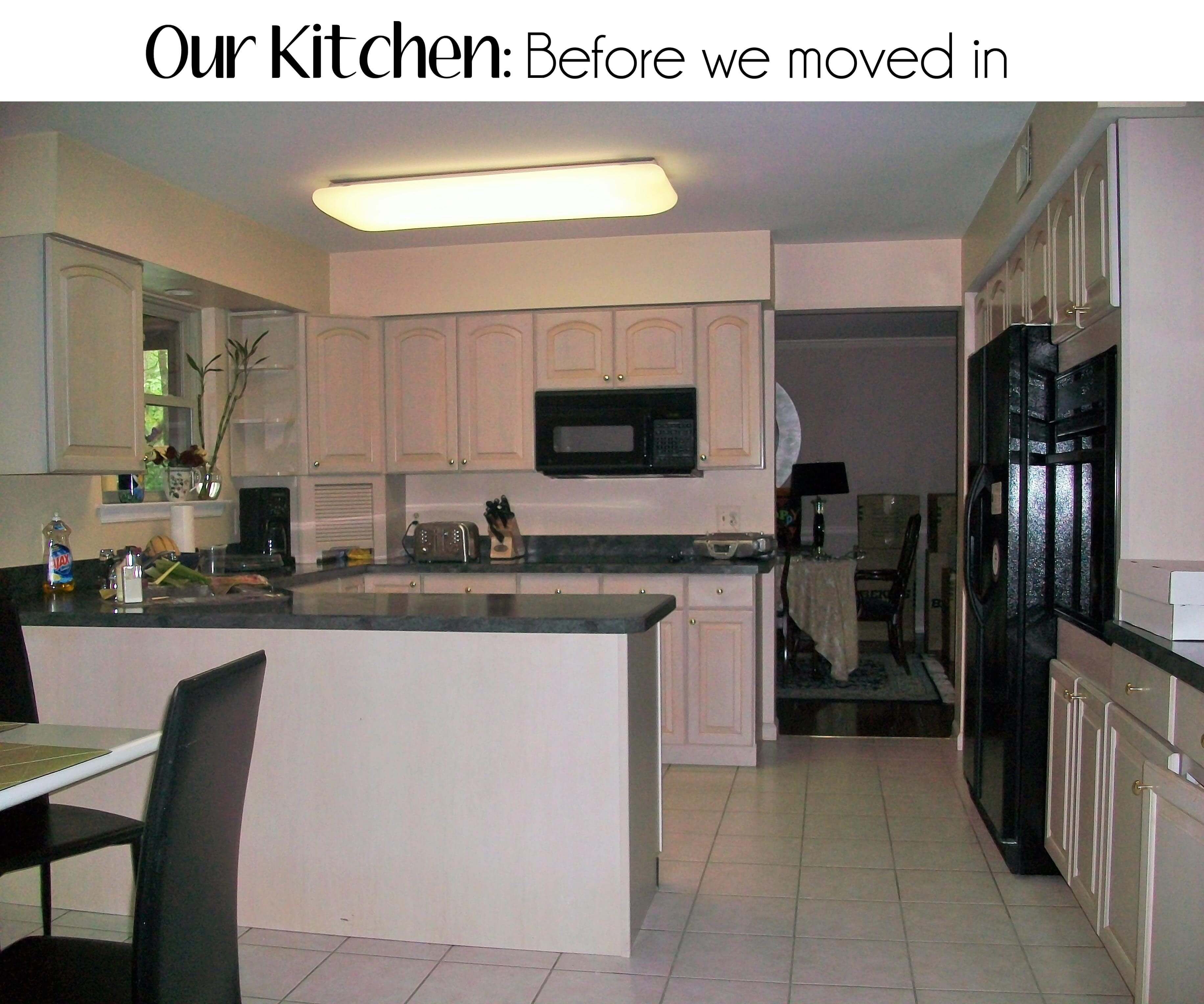 Our Kitchen Before We Moved In