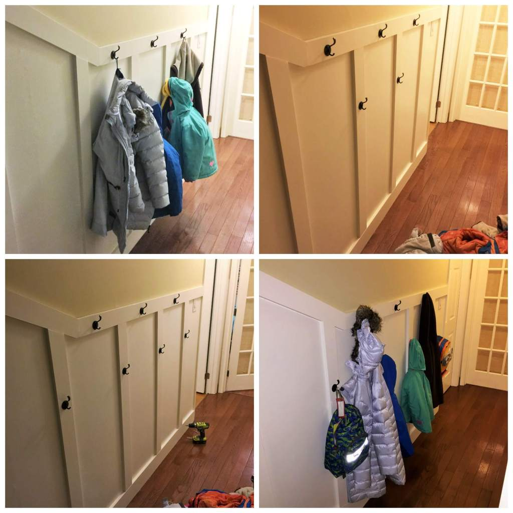 Need more hooks in the hallway