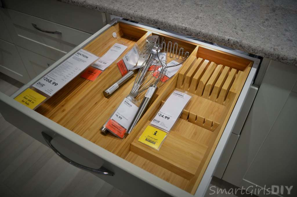 SEKTION bamboo drawer divider