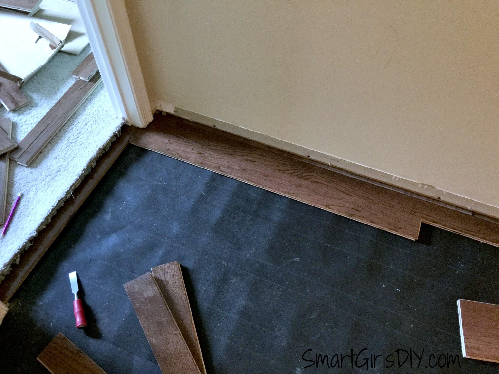 Upstairs Hallway 1 Installing Hardwood Floors