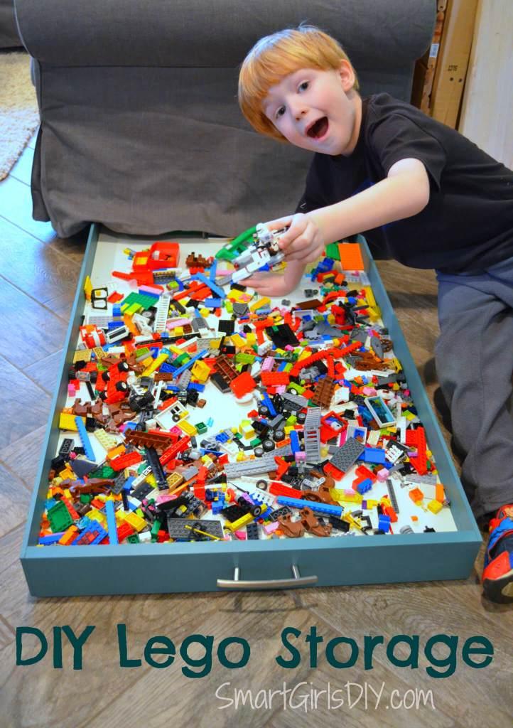 DIY Lego Storage by SmartGirlsDIY