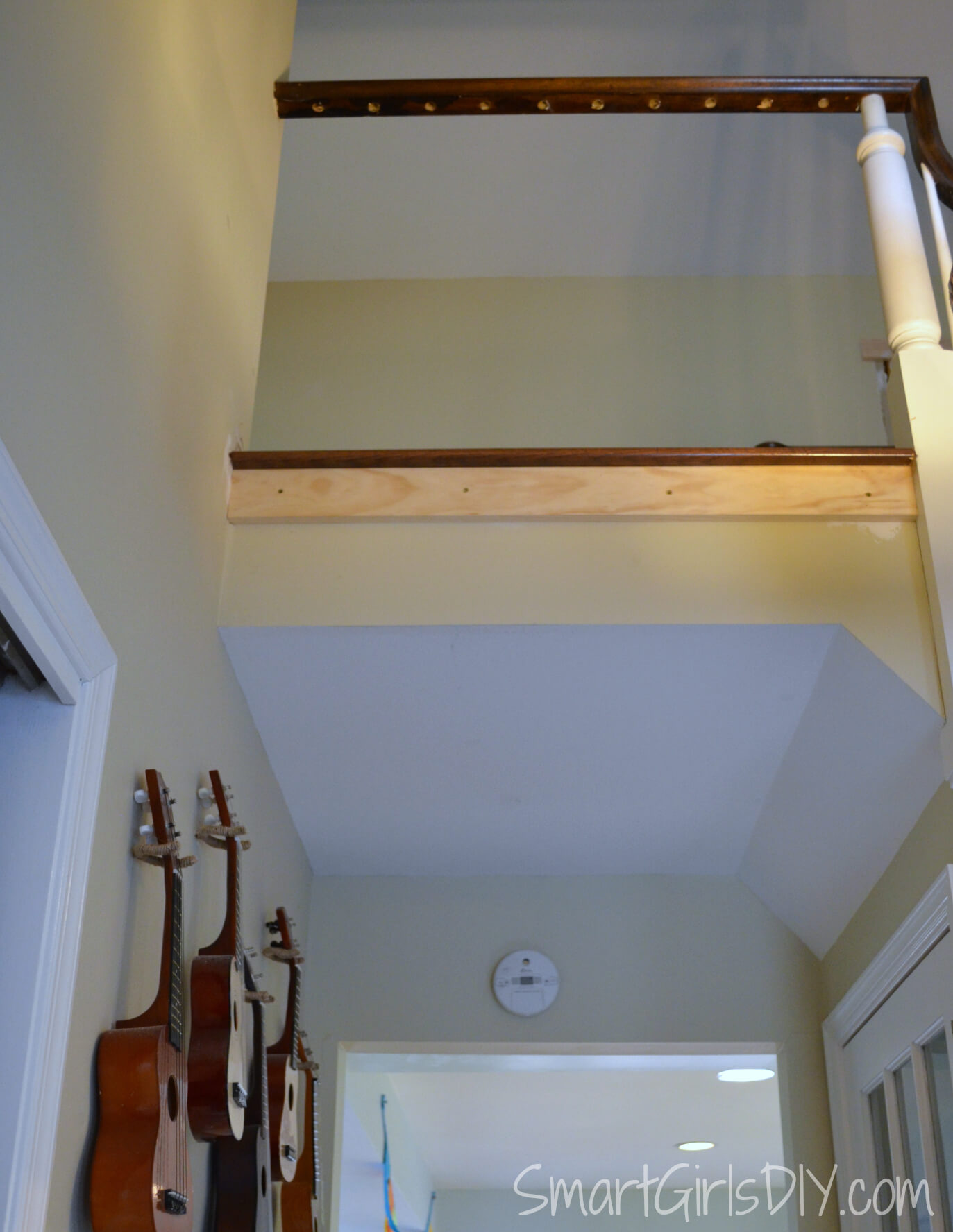 Installing Support To Hold Up Stair Nose Overhang