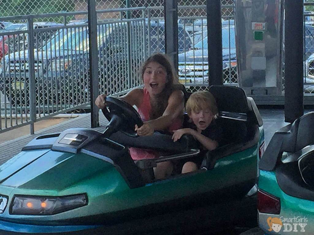 Bumper Cars at Jenkinson's NJ