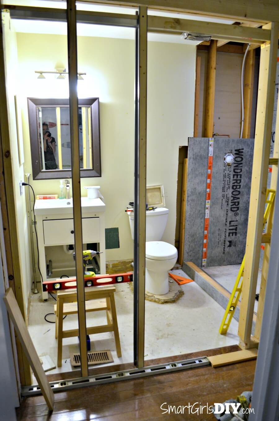 DIY Custom Shower 1: Supplies, Walls, Curb