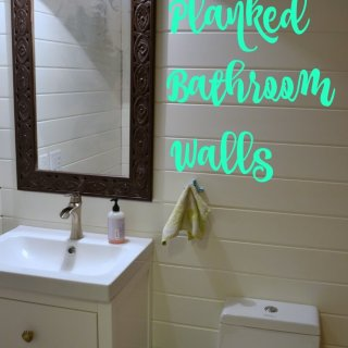 Guest Bathroom 8: Planked Walls