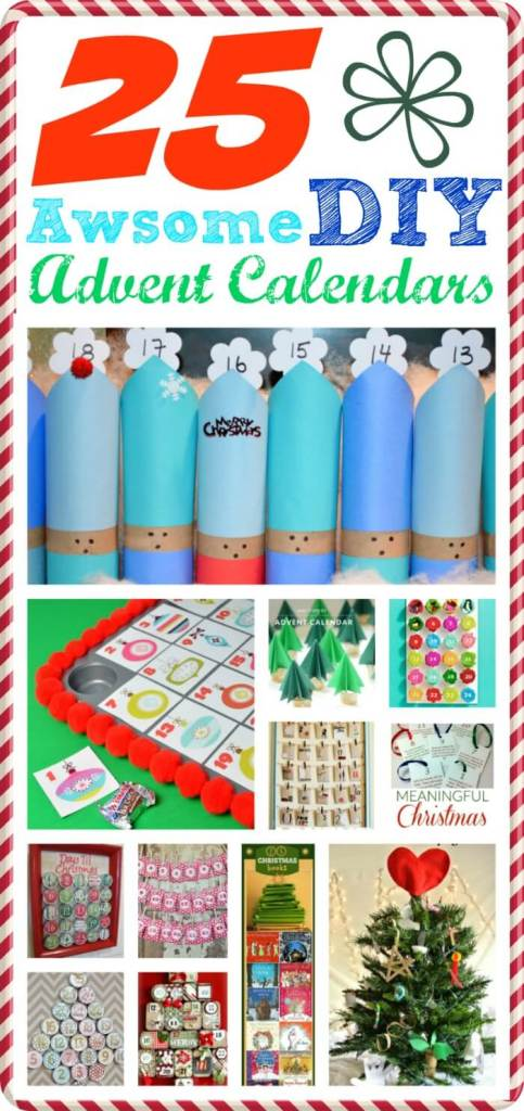 25 Awesome DIY Advent Calendars -- Smart Girls DIY