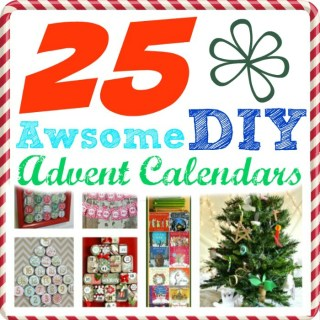 25 Awesome DIY Advent Calendars