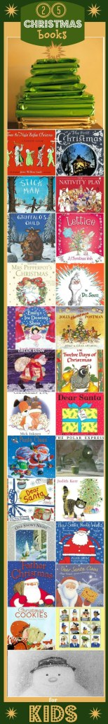 25 Books for Christmas -- makes a unique advent calendar