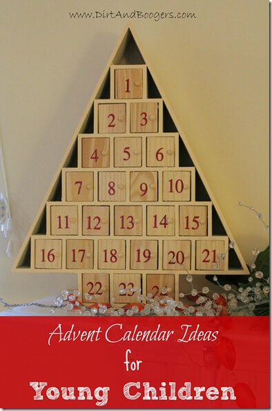 Advent Calendar with fun activities and treats