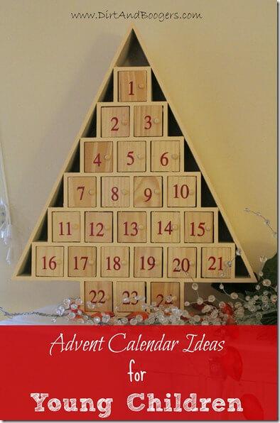 Advent Calendar with fun activities and treats