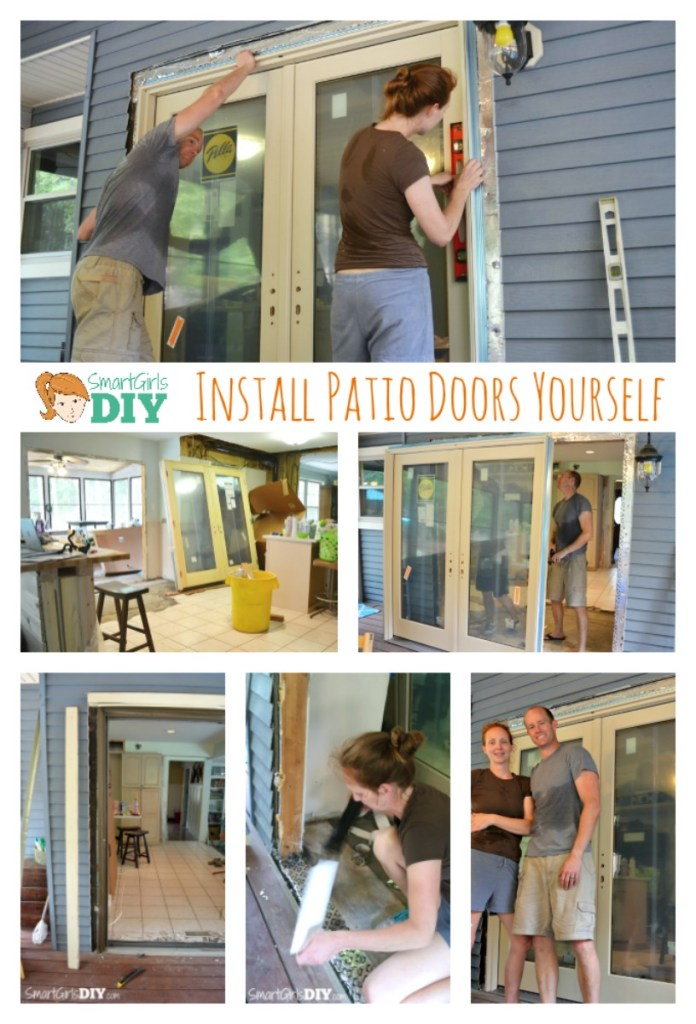 Install Patio Doors Yourself with Smart Girls DIY