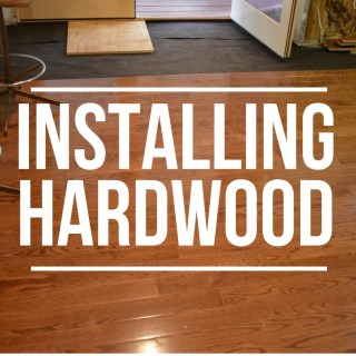 Installing Hardwood Flooring in the Kitchen
