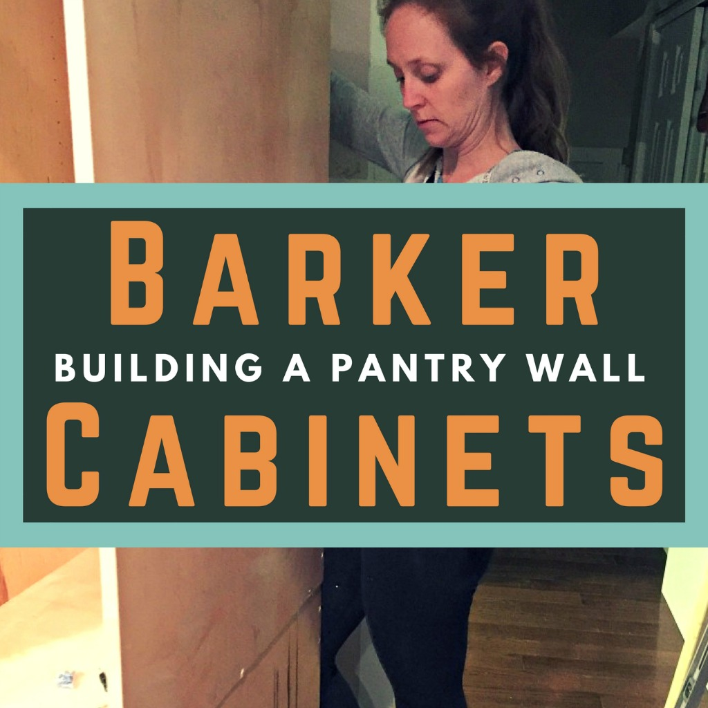 Bon How To Build A Pantry Wall With Barker Cabinets