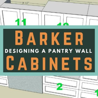 Designing a Pantry Wall with Barker Cabinets