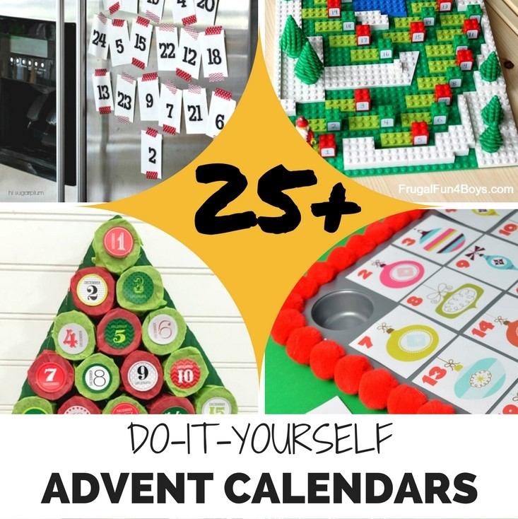 25 awesome diy advent calendars solutioingenieria Images
