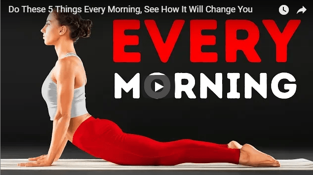 Good benefits of doing this particular exercise every morning